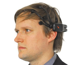 Mark Collins Emotiv EEG Headset